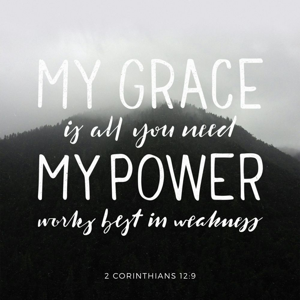 Grace is all you need...